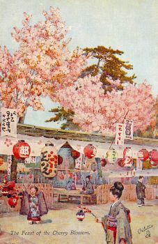Feast Of the Cherry Blossom by Yesterdays-Paper