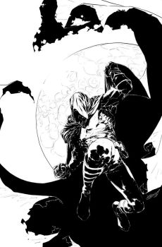 Moon Knight_cover sample by scabrouspencil