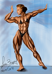 Muscle 80 Finish by Luis3iguel