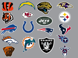 NFL AFC Conference Dock Icons by KneeNoh