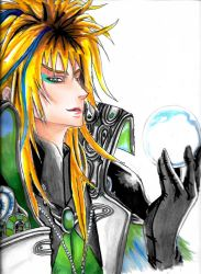 Goblin King by sofonisbasaki
