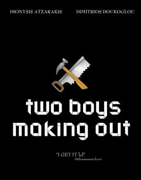 two boys making out poster by DukeOGlue