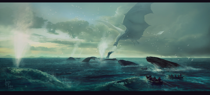 Giants of the sea by Roiuky
