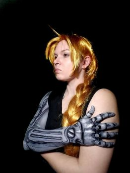 Edward Elric Automail Arm makeup by Adnarimification