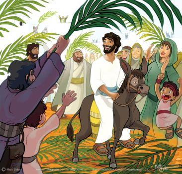 Palm Sunday by PrisonerOnEarth