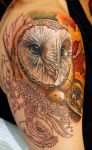 Owl in Progress =) More Woodland Critters to come! by seanspoison