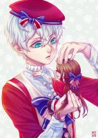 Mystic Messenger: Ray's Gift by Soverrein