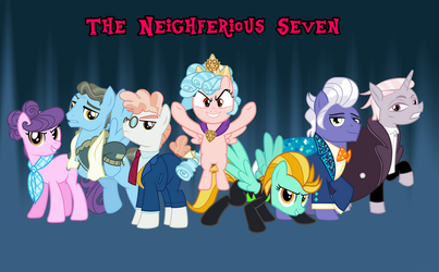 The New Neighferious Seven by AndoAnimalia