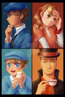 PL: London's Greatest Puzzle Solvers by alicenpai
