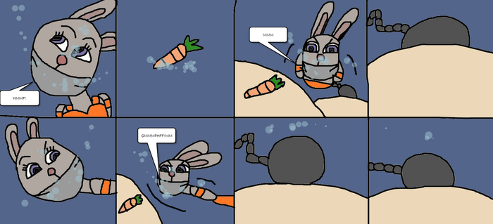Judy Hopps Tied up in the water page 5 by mattjohn1992