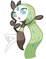 Meloetta the Melody Pokemon
