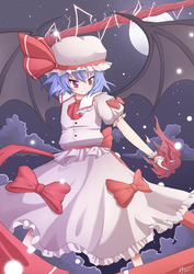 The Scarlet Devil - Remilia Scarlet by Puffyko
