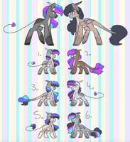 breedable adopts batch 3 (4/6) by ColourdropArt
