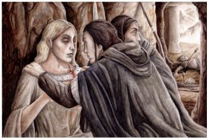 The Rescue of Celebrian by peet