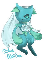 [CLOSED] Fleureon | Blue Watcher by MiniKiwiDessin