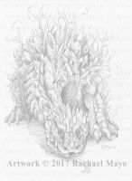 Embers of Pyre Hill Dragon by rachaelm5
