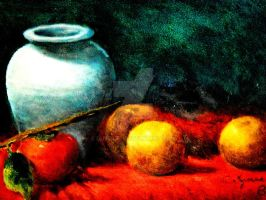 Still Life in Oil by duvolks