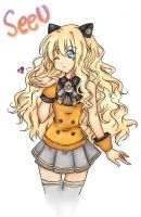 SeeU Colored~ by kitcat190