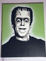 Herman Munster by ProjectBiohazard