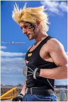 Zell Dincht Cosplay Relax and Sun by Leon Chiro by LeonChiroCosplayArt