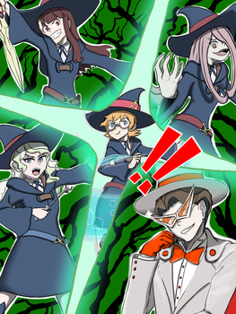 [Little Witch Academia X Persona] ALL OUT ATTACK by Artist741