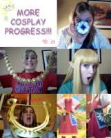 More Cosplay Progress by BleachcakeCosplay