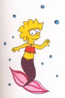Lisa the Mermaid by TheDramaticMonarch