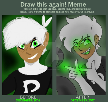 Meme: Before and After by galaxyghosts