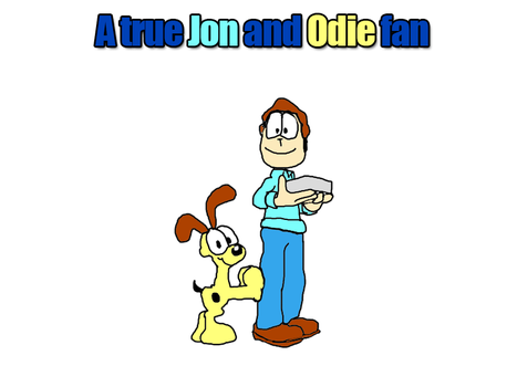 A true fan of Jon and Odie by TheRealCuddles