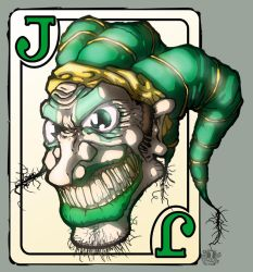 joker card.holy crap its done by abomb-in-nation