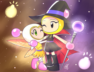 Fairy Bomber and Witch Bomber by SailorBomber