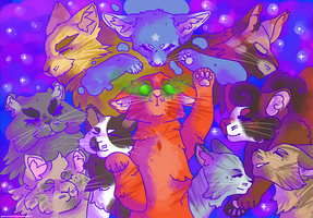 firestars nine lives by selfish-machines