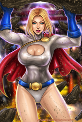 POWER GIRL by johnbecaro