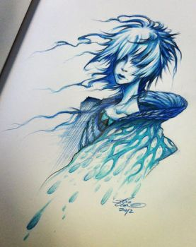 Sketch: water. by ghost