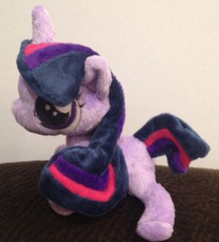 Filly Twilight Sparkle Plushie by troblemz