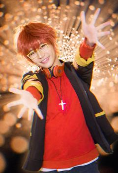 707 Space Hug - Mystic Messenger by bummyspears