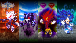 4 Mobians Of The Apocalypse by Bar-Kun