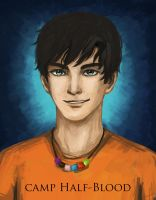 Percy Jackson by minjimouse