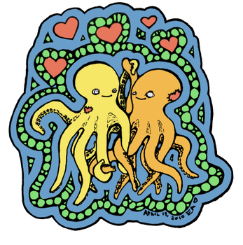 Octopus love by SexyPie