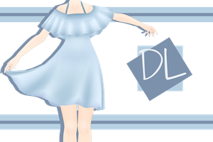.:: MMD - Off Shoulder Sundress Download ::. by AneCoco