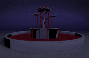 The Blood Fountain: Night by TerminusLucis