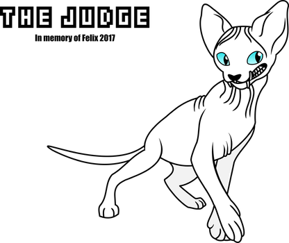 The Judge/Hairless Cat by PrinceOfRage