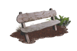 Wooden Bench PNG.. by AledJonesDigitalArt
