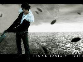 Squall Leonhart cosplay by PrincessRiN0a