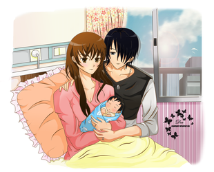 Himuro's Family by AsamiChain17