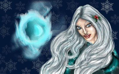 Lady Alustriel Silverhand by Elvish-Designs