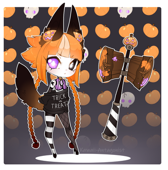 TRICK OR TREAT | Lockette Raffle | OPEN by kawaii-antagonist