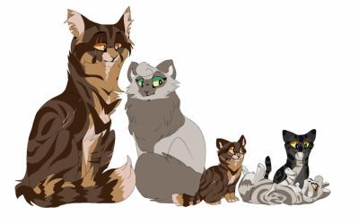 Tigerstar and Dovewing by XxHimmelxX
