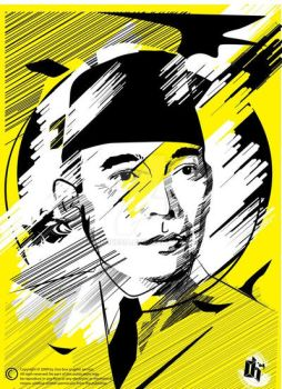 Bung Karno by indonesia