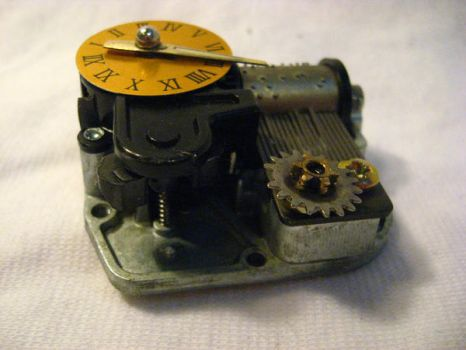Steampunk Music Box by dreamylittlethings